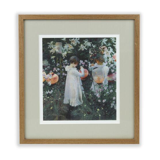 Sargent: Carnation, Lily, Lily Rose framed print