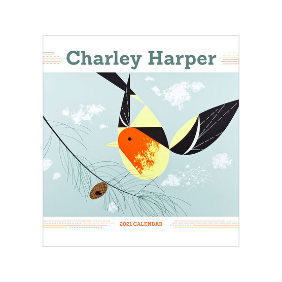 Mini Charley Harper 2021 calendar