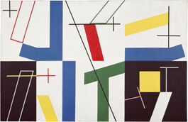 Sophie Taeuber-Arp: Six Spaces with Four Small Crosses