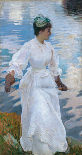 Sargent: Lady Fishing - Mrs Ormond