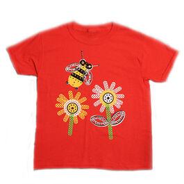 Shape children's bee t-shirt