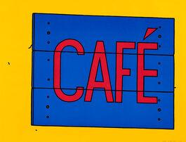 Caulfield: Café Sign