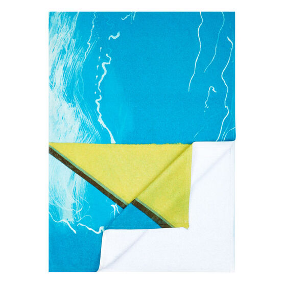 Hockney Bigger Splash beach towel