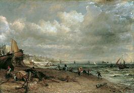 John Constable: Chain Pier, Brighton
