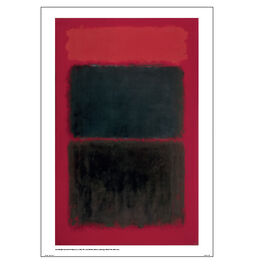 Light Red Over Black poster