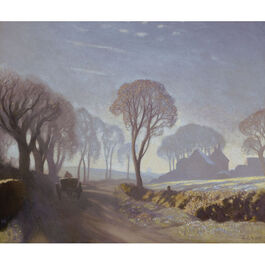 Clausen: The Road, Winter Morning