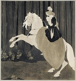 Aubrey Beardsley: Frontispiece to Chopin's Third Ballade