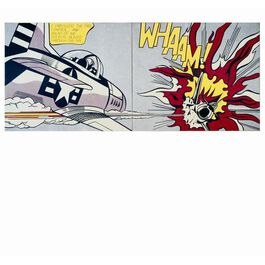 Whaam! - greetings card