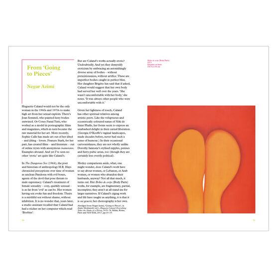 Huguette Caland exhbition book