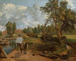 John Constable: Flatford Mill