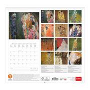 Klimt 2020 calendar