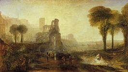 Turner: Caligulas Palace and Bridge exhibited