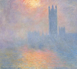 Monet: Houses of Parliament, Effect of Sunlight in the Fog