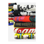Andy Warhol Zine by Unified Goods stack of t-shirts