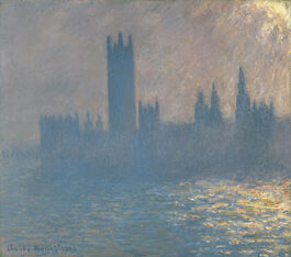 Monet: Houses of Parliament, Sunlight Effect