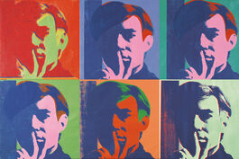 Andy Warhol: A Set of Six Self-Portraits