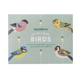 Cut out & make British birds kit