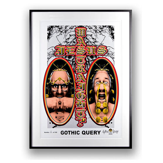 Gilbert & George, Gothic Query, 2006