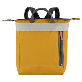 Ally Capellino mustard yellow rucksack