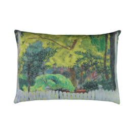 Pierre Bonnard Violet Fence cushion cover