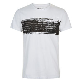Tire screen print t-shirt