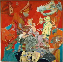 Paula Rego: Self-portrait in Red