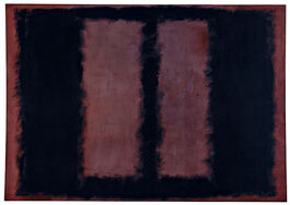 Rothko: Black on Maroon, 1958