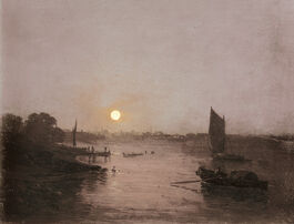 Turner: Moonlight, a Study at Millbank