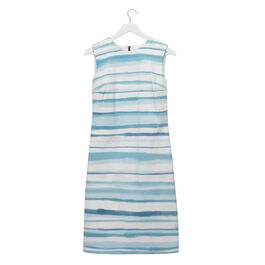 Lisa Milroy blue striped Summer Collection dress