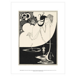 Aubrey Beardsley: The Climax exhibition print