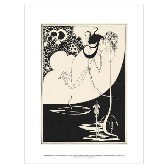 Aubrey Beardsley: The Climax exhibition print