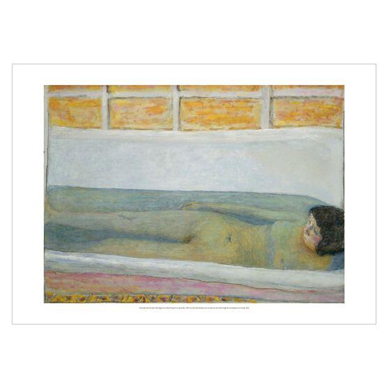 Pierre Bonnard: The Bath poster