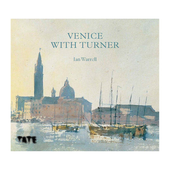 Venice with Turner book cover - sketch of the city by Turner