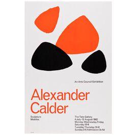 Alexander Calder: Sculpture and Mobiles vintage poster