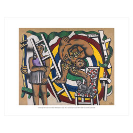 Fernand Léger: The Acrobat and his Partner mini print