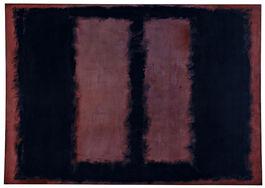 Rothko: Black on Maroon, 1958