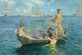 Henry Scott Tuke: August Blue