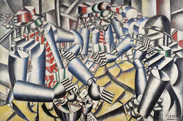 Fernand Léger: Soldiers playing cards
