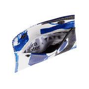 Laura Slater cobalt blue leather purse