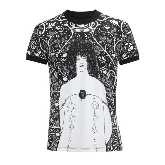 Aubrey Beardsley Venus between Terminal Gods t-shirt