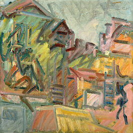 Frank Auerbach: The House III