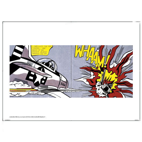 Lichtenstein Whaam! (poster)