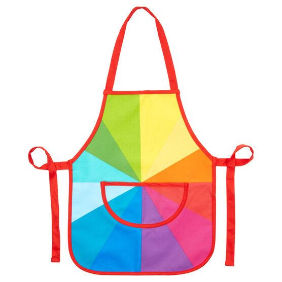 Colour wheel apron