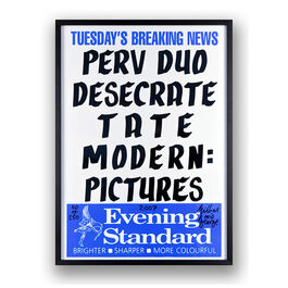 Gilbert & George, Perv Duo Desecrate Tate Modern: Pictures, 2007