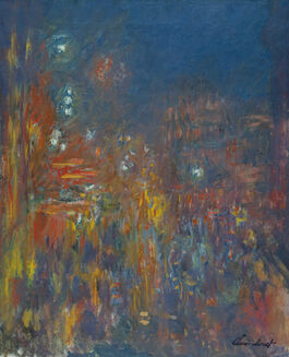 Monet: Leicester Square at Night