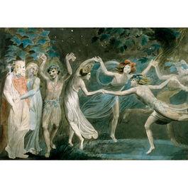 Blake: Oberon, Titania & Puck with Fairies