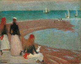 Philip Wilson Steer: The Beach at Walberswick