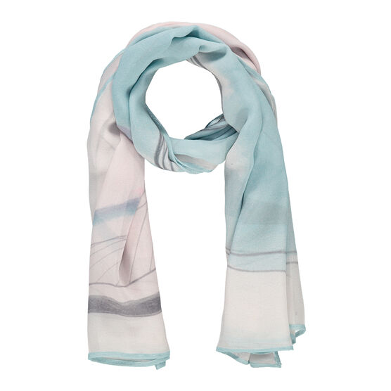 Barbara Hepworth Winter Solstice silk scarf