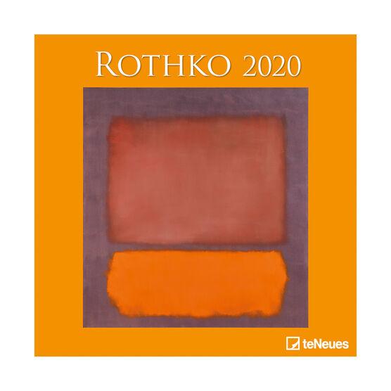 Rothko 2020 calendar