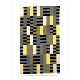 Anni Albers: Black White Yellow poster